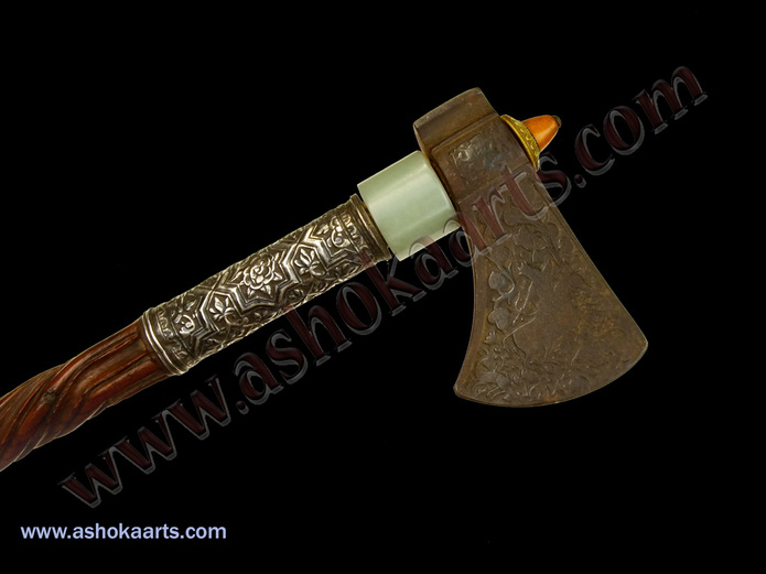 fine early antique tabar axe