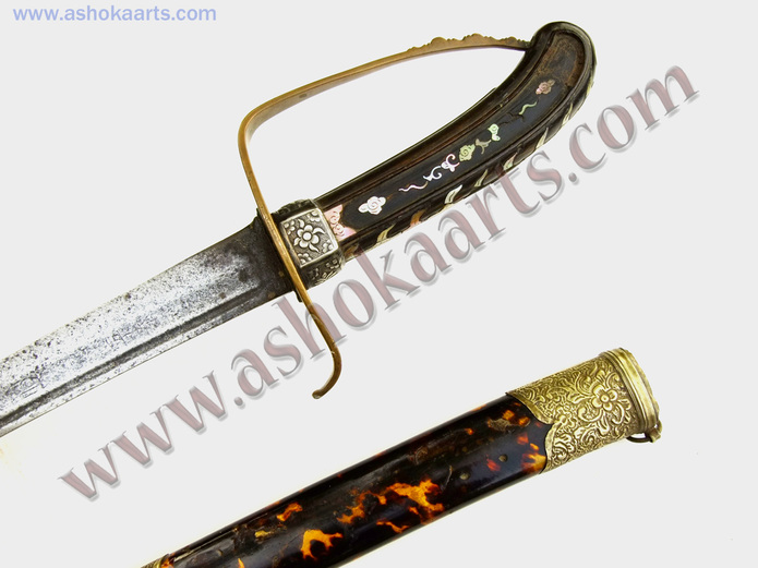 Interesting good quality Vietnamese Guom sword