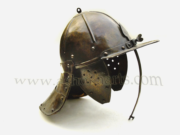 German Harquebusiers Lobster-tail Helmet in fine condition circa 1620 | European and Polish ...