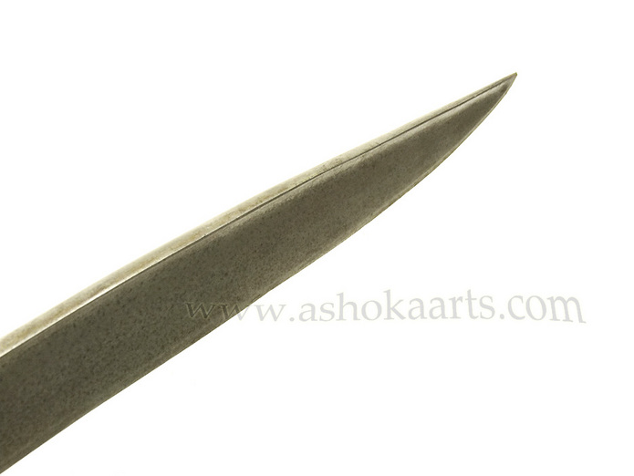 Indian Sword ' Sossun Pattah' rare blade variant with Silver Damascened decoration |  www.ashokaarts.com fine antique oriental arms and armour swords and weapons for sale
