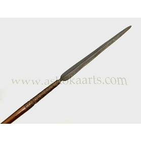 Nice South African Nguni Zulu spear with long blade