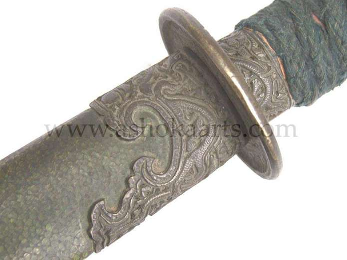 Antique Dao Sword from Qing China