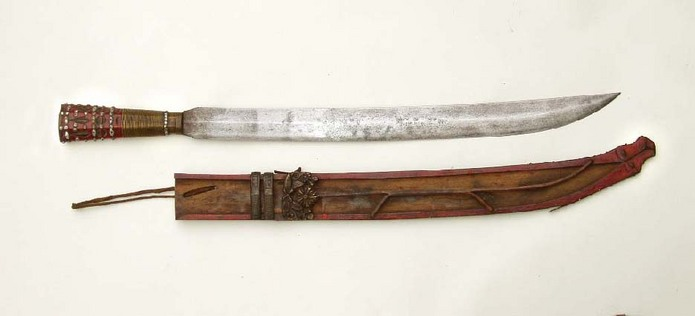 rare knife from Tawian Paiwan or Formosa... Rukai tribe