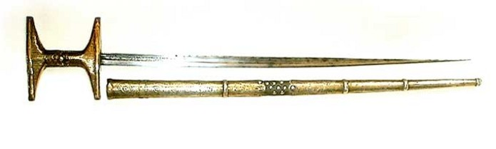 Rare Moroccan or Algerian Sword or knife from the 19th century