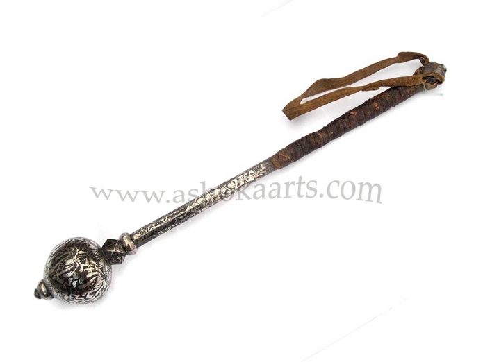 early antique mongolian or chinese mace