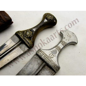 Two Arab Jambiya daggers