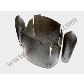 Indo Persian Char Aina Body armour Cuirass with Bazu band armsguards