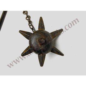 Decorative 'Ball Morning Star' or spiked flail