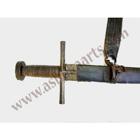 Sudanese Straight sword 'Kaskara' with European blade