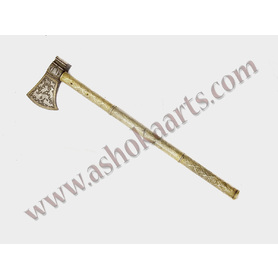 Fine Persian Tabarzin Saddle Axe