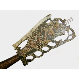 Rare Antique Balinese Axe weapon