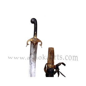 Antique Persian Shamshir Sword with wootz blade