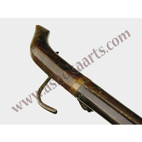 Scarce Chinese Matchlock gun musket 19th century